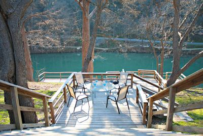 RIO VISTA ON THE GUADALUPE - a SkyRun Texas Property - Large Deck with Great River Access