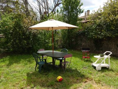 Photo for Village house with private attached garden in the heart of Haute Provence