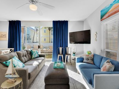 Photo for Coastal, bright cottage, Steps to the gulf, Minutes to entertainment