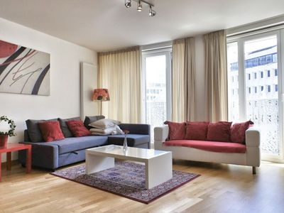 Photo for Opera 204 apartment in Brussels Centre with WiFi & lift.