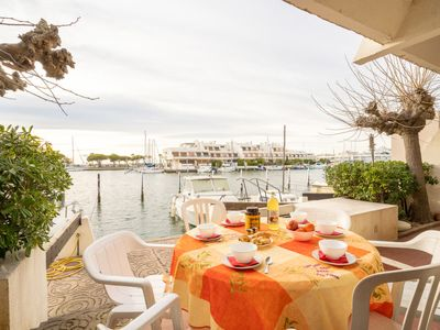 Photo for Apartment Le Nirvana in Port Camargue - 6 persons, 2 bedrooms