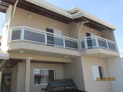 Photo for House C / Pool 04 Suites - Center of Peruibe - Beach - Complete leisure
