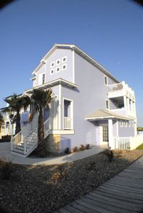 Photo for Seas the View Downstairs Apartment w/ a great porch and short walk to the beach