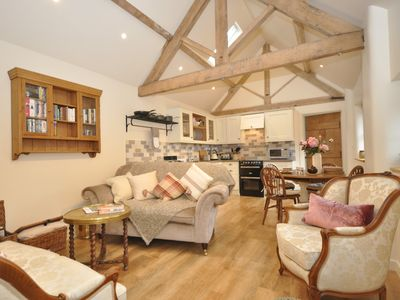 Open-plan simply full of character and charm