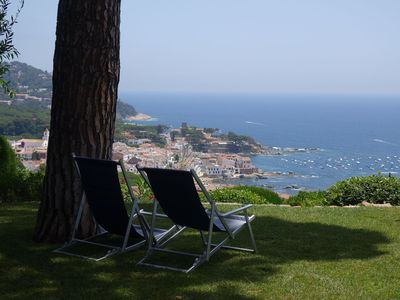 Photo for Magnificent views of the sea in this beautiful and comfortable apartment located on the gr
