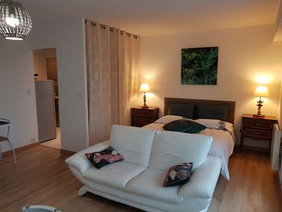 Photo for 37m² apartment with terrace 05 minutes from the port