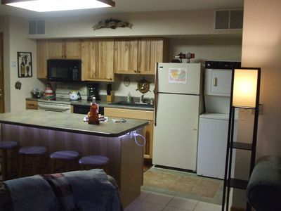 Brand new Hickory Kitchen with Dishwasher and Washer Dryer