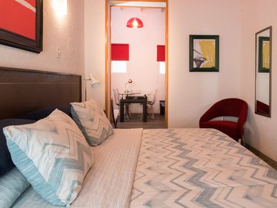 Photo for The Cozy Suite of Villa Mural, ideal couples, near the WTC & Condesa