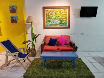 Photo for Cozy Studio 3 blocks from the beach
