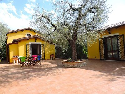 Photo for 2 bedroom Villa, sleeps 6 in Canneto with Pool, Air Con and WiFi