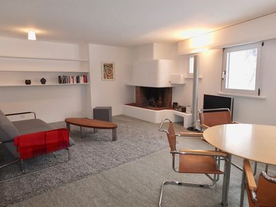 Photo for 1BR Apartment Vacation Rental in Sils/Segl Maria