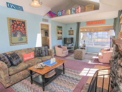 Photo for Charming, Colorful 2-Bedroom Sleeps 6, With a Hot Tub