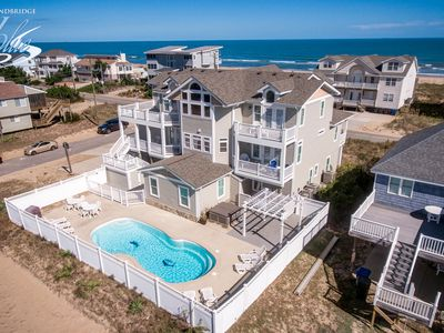 Photo for Windjammer | 160 ft from the beach | Private Pool, Hot Tub