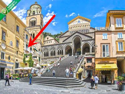 Photo for LivingAmalfi: the most central apartment in Amalfi, view on the Cathedral