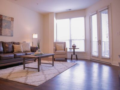 Photo for SOPHISTICATED 1BR APT NEAR DOWNTOWN & MASS AVE