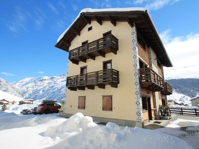 Photo for Apartment at 600mt from the ski lift and only 300mt from the ski slopes