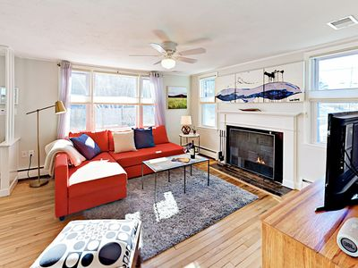 Living Room - Welcome to Provincetown! Your rental is professionally managed by TurnKey Vacation Rentals.