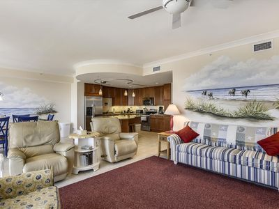 Photo for Ocean-to-Bay Views! Gateway Grand 804 - Luxury Condo w/ Wi-Fi, Pools & Game Room