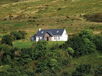 Photo for Detached cottage in traditional style, facing south on the slopes of the Slieve Mish Mountains…