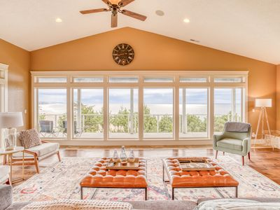 Photo for Multi-decked, Contemporary Oceanfront Stunner has Four Bedrooms, Five Baths, Hot