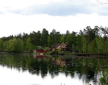 Photo for Magnificent Cultural House by the lake. In the heart of a magnificent nature reserve