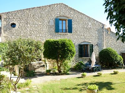 Photo for Stone house in a village of Provence by the river