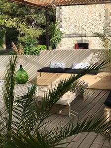 Photo for house with heated pool 5 minutes from downtown Avignon