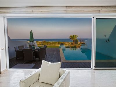 Photo for Villa Fig Tree Bay Seafront, Luxury 5BDR Seafront Protaras Villa, with Panoramic Sea Views
