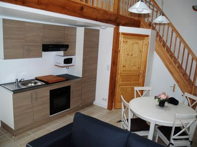 Photo for Apartment No. 1 with Terrace and Mezzanine in Rochefort (holiday maker)