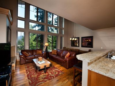 Photo for Luxury Ski In/Out Townhome on Creek - Views - Ski in/Out - Game Room