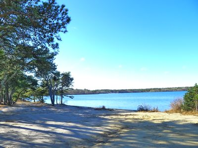 Photo for SPACIOUS ROOMS AND VIEWS OF SEYMOUR POND IN THIS HARWICH VACATION HOME!