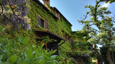 Photo for Le Due Volpi, country house with exclusive pool in Tuscany