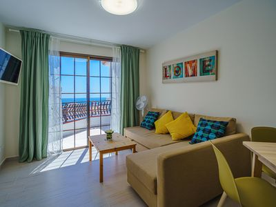 Photo for Los Cristianos apartment with ocean view and free WiFi