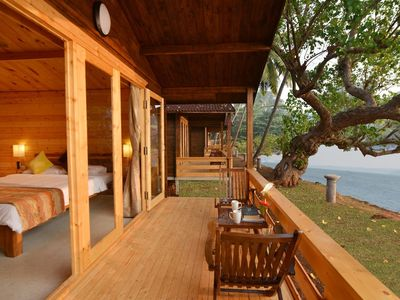 Photo for 1BR Cottage Vacation Rental in Dona Paula, Goa