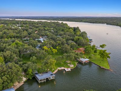Photo for 2 Acres, 235' Waterfront, Protected Cove Swimming, Fire-Pit, Cabana Bar!
