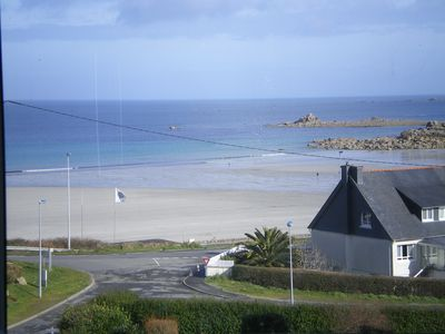 Photo for TREVOU-TREGUIGNEC, 5min from Perros, triplex, sea view, 100 m from the beach