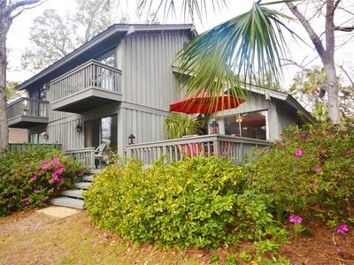 Photo for 1 Hickory Cove | Lagoon View | Updated Kitchen | 7 Minute Walk to Beach | Complex Pool | Town Home