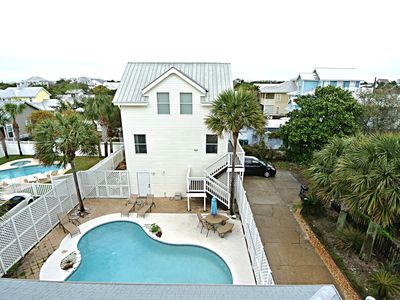 Photo for Across from Beach w/ Ocean views, Private Pool, 2 Houses. FT