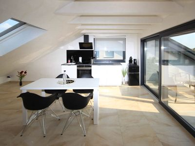 Photo for Kornwestheim near Stuttgart / Ludwigsburg Design penthouse with roof terrace 100sqm