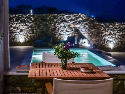 Photo for Cycladic Lux Villa Ortus Light Blue w/ Pool!