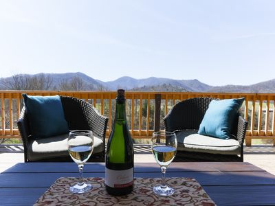 Photo for Mountain Views, Privacy, Hot Tub, Dog friendly, Private