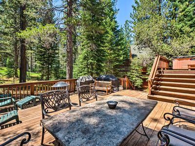 Photo for Truckee Golf Course Home w/Hot Tub & Spacious Deck