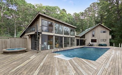 Photo for East Hampton - Beautiful home with large pool, hot tub and much more...