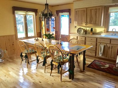 Photo for Quiet Farmhouse near beautiful whitefish chain of lakes