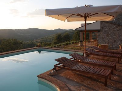 Photo for Country house in Umbria with private pool for family holiday or romantic stay