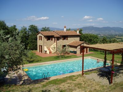 Photo for Restored Villa, private heated Pool, Wi-fi and TV (inc. UK TV).  Secure Payment
