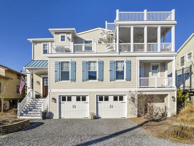 Photo for FREE DAILY ACTIVITIES!!! Exceptional custom vacation home located just steps from the beach front in beautiful family friendly South Bethany!