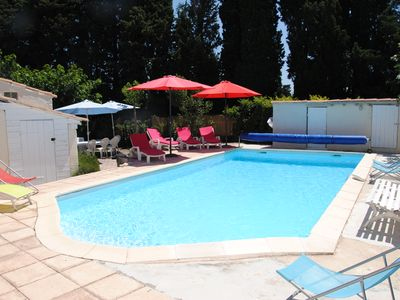 Photo for House in the heart of Provence, private pool, pingpong, neat decor