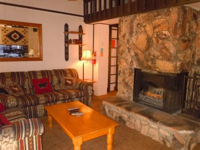 2 Bedroom Townhouse with Private Spa at the Base of Snow Summit Ski Resort!