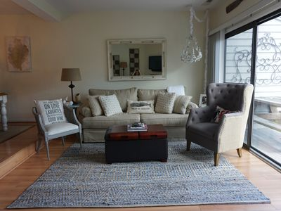 Photo for Chic, Stylish, Comfy/3 Blks To Beach/Ideally Located Between Rehoboth & Dewey